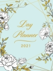 Day Planner 2021 Large: 8.5 x 11 1 Page per Day Planner Floral Hardcover January - December 2021 Dated Planner 2021 Productivity, XXL Planner, Cover Image
