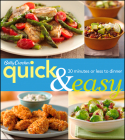 Betty Crocker Quick & Easy: 30 Minutes or Less to Dinner (Betty Crocker Cooking) Cover Image