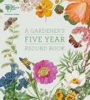 RHS A Gardener's Five Year Record Book Cover Image