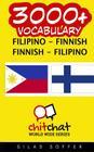 3000+ Filipino - Finnish Finnish - Filipino Vocabulary Cover Image