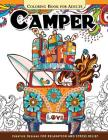 Camper Coloring Book for Adults: Let Color me the camping ! Van, Forest and Flower Design Cover Image