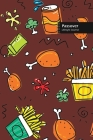 Passover Lifestyle Journal, Blank Write-in Notebook, Dotted Lines, Wide Ruled, Size (A5) 6 x 9 In (Brown) Cover Image