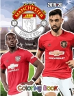 Paul Pogba and Manchester United F.C.: The Soccer Coloring and Activity Book: 2019-2020 Season Cover Image
