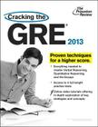 Cracking the GRE, 2013 Edition Cover Image