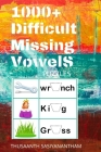 1000+ Difficult Missing Vowel Hard Puzzle Cover Image