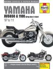 Yamaha XVS650 & 1100 (Drag Star, V-Star) '97 to '11 (Haynes Service & Repair Manual) Cover Image