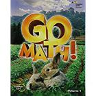 Student Edition Volume 1 Grade K 2015 (Go Math!) Cover Image