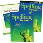Spelling Workout Homeschool Bundle Level C Copyright 2002 [With Parent Guide and Teacher's Guide] Cover Image