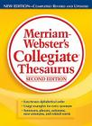 Merriam-Webster's Collegiate Thesaurus Cover Image
