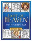 Light of Heaven Saints Coloring Book Cover Image