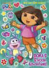 Dora's Sticker Adventure! Cover Image