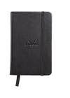 Rhodia Webbie Hardcover Dot Grid 3 1/2 X 5 1/2 A6 Black Cover Notebook Cover Image