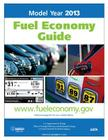 Model Year 2013 Fuel Economy Guide Cover Image