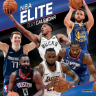 NBA Elite 2021 12x12 Wall Calendar Cover Image