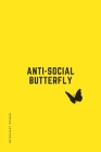 INTROVERT POWER Anti-Social Butterfly: The secret strengths of INFJ personality Dot Grid Composition Notebook with Funny Quotes Gifts for Introverts Cover Image