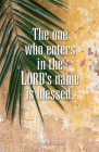 The One Who Enters Palm Sunday Bulletin (Pkg of 50) Cover Image