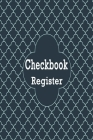 Checkbook Register: Credit and Debit Tracking Book, Personal Account Balance Register, Checking Account Ledger Cover Image