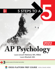 5 Steps to a 5: AP Psychology 2022 Cover Image
