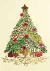 Festive Evergreen Small Boxed Holiday Cards Cover Image