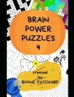 Brain Power Puzzles 9: Over 325 Crosswords, Word Searches, Pictograms, Sudoku, Anagrams, Cryptograms, Math Puzzles, and more Cover Image