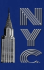 Chrysler Building New York City Drawing Writing journal Cover Image