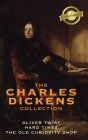 The Charles Dickens Collection: (3 Books) Oliver Twist, Hard Times, and The Old Curiosity Shop (Deluxe Library Binding) Cover Image