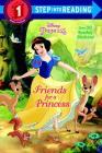 Friends for a Princess (Disney Princess) (Step into Reading) Cover Image