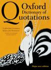 Oxford Dictionary of Quotations Cover Image