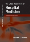 The Little Black Book of Hospital Medicine (Jones and Bartlett's Little Black Book) Cover Image