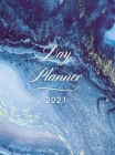 Day Planner 2021 Daily Large: Hardcover Agenda 8.5