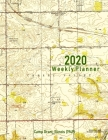 2020 Weekly Planner: Camp Grant, Illinois (1949): Vintage Topo Map Cover Cover Image