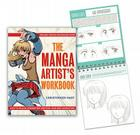 The Manga Artist's Workbook: Easy-to-Follow Lessons for Creating Your Own Characters Cover Image
