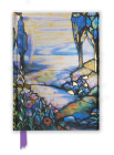 Tiffany: Cypress and Lilies (Foiled Journal) (Flame Tree Notebooks #17) Cover Image
