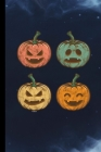 Retro Pumpkin: Spooky Halloween Party Scary Hallows Eve All Saint's Day Celebration Gift For Celebrant And Trick Or Treat (6
