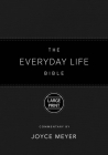 The Everyday Life Bible Large Print Black LeatherLuxe®: The Power of God's Word for Everyday Living Cover Image