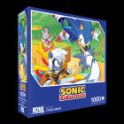 Sonic The Hedgehog: Too Slow! Premium Puzzle (1000-pc) Cover Image