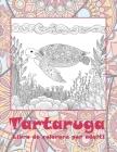 Tartaruga - Libro da colorare per adulti Cover Image