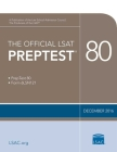 The Official LSAT Preptest 80: (dec. 2016 Lsat) Cover Image