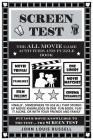 Screen Test: The All Movie Game Activities and Puzzle Book Cover Image