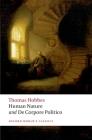 Human Nature & de Corpore Politico (Oxford World's Classics) Cover Image
