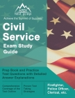 Civil Service Exam Study Guide: Prep Book and Practice Test Questions with Detailed Answer Explanations [Firefighter, Police Officer, Clerical, etc.] Cover Image