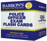 Barron's Police Officer Exam Flash Cards Cover Image