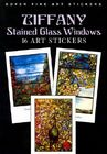 Tiffany Stained Glass Windows: 16 Art Stickers (Fine Art Stickers) Cover Image