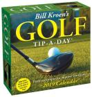 Bill Kroen's Golf Tip-a-Day 2019 Day-to-Day Calendar Cover Image