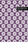 New Beginnings Lifestyle Journal, Blank Write-in Notebook, Dotted Lines, Wide Ruled, Size (A5) 6 x 9 In (Purple) Cover Image