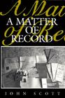 A Matter of Record Cover Image