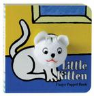 Little Kitten: Finger Puppet Book: (Finger Puppet Book for Toddlers and Babies, Baby Books for First Year, Animal Finger Puppets) (Little Finger Puppet Board Books #FING) Cover Image