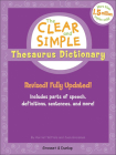Clear and Simple Thesaurus Dictionary Cover Image
