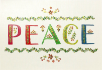 Peace Small Boxed Holiday Cards Cover Image