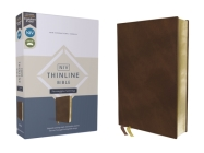 Niv, Thinline Bible, Passaggio Setting, Leathersoft, Brown, Red Letter, Comfort Print: Elegantly Uniting Single and Double Columns Into One Passaggio Cover Image
